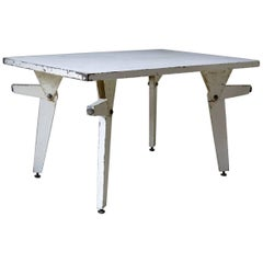 1940s Designer's Prototype Dual Position Table