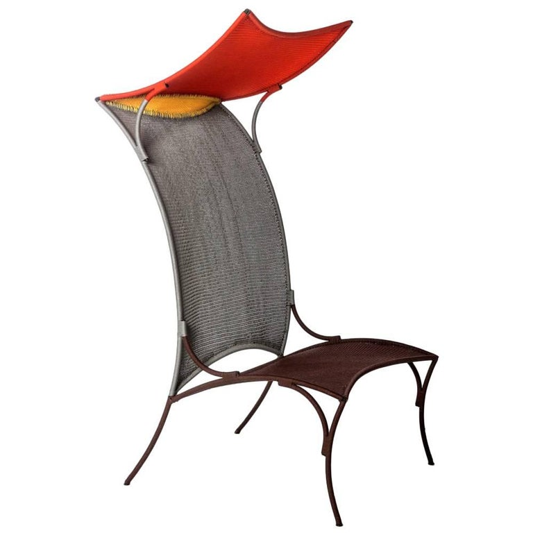 Arco Armchair High by Martino Gamper for Moroso for Indoor and Outdoor