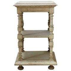 Turned Oak Shelves, France, 19th Century