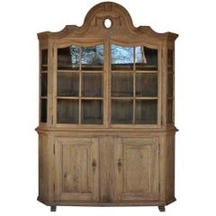 18th Century German Farmhouse Display Cabinet