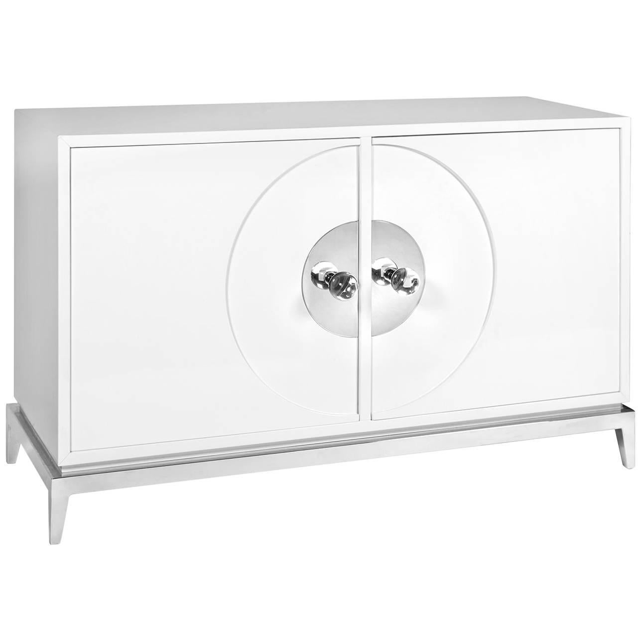 Channing White Lacquer Buffet