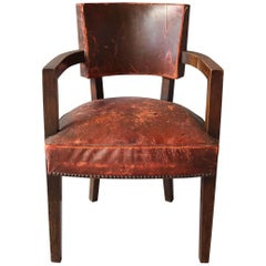 French Art Deco Desk Armchair