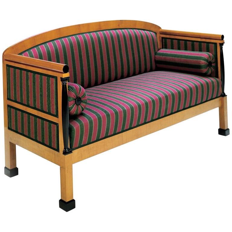 Biedermeier Smokers Canape Sofa