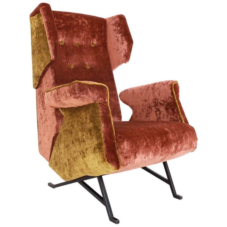 Lounge Chair, Italy, Mid-20th Century For Sale