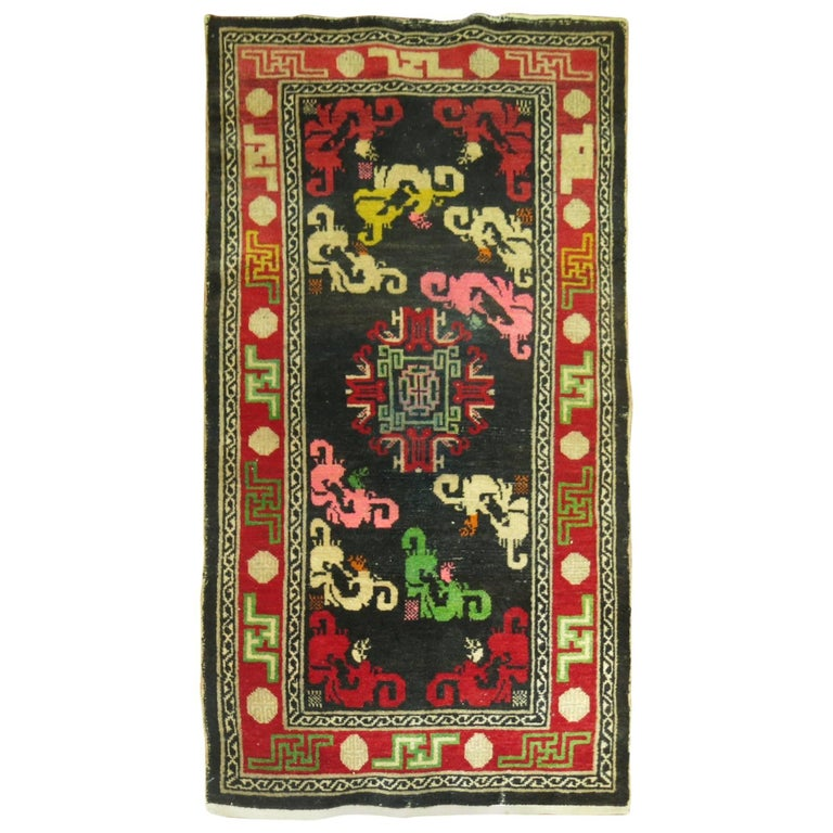 Antique Tibetan Rug