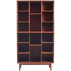 Bookcase in Solid Teak by Hvidt & Mølgaard