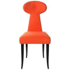 Vera Dining Chair in Poppy Linen