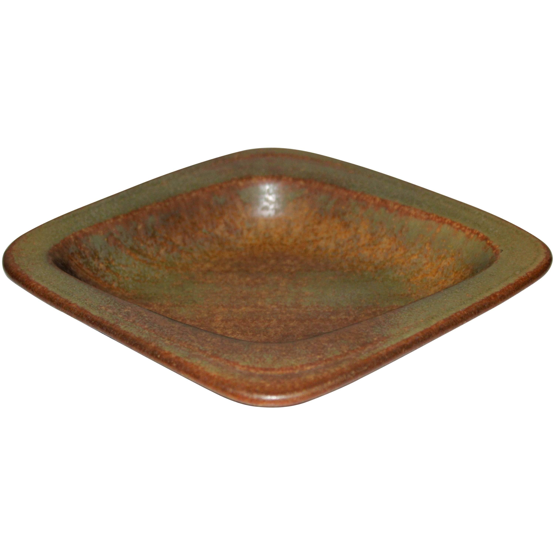 Midcentury Gunnar Nylund Ceramic Tray for Rörstrand