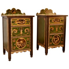 Pair of 19th Century Italian Side Tables
