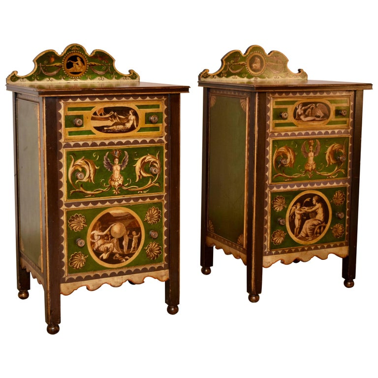 Pair of 19th Century Italian Side Tables