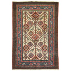 Antique Persian Serab Decorative Rug Mat