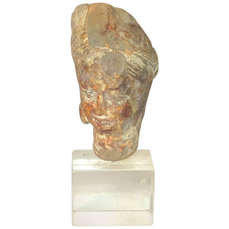 Antique Terracotta Bust For Sale