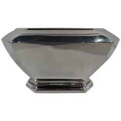 Durgin Fairfax Art Deco Sterling Silver Sugar Bowl