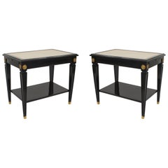 Pair of French 1940s 'Louis XVI Style' Low End Table