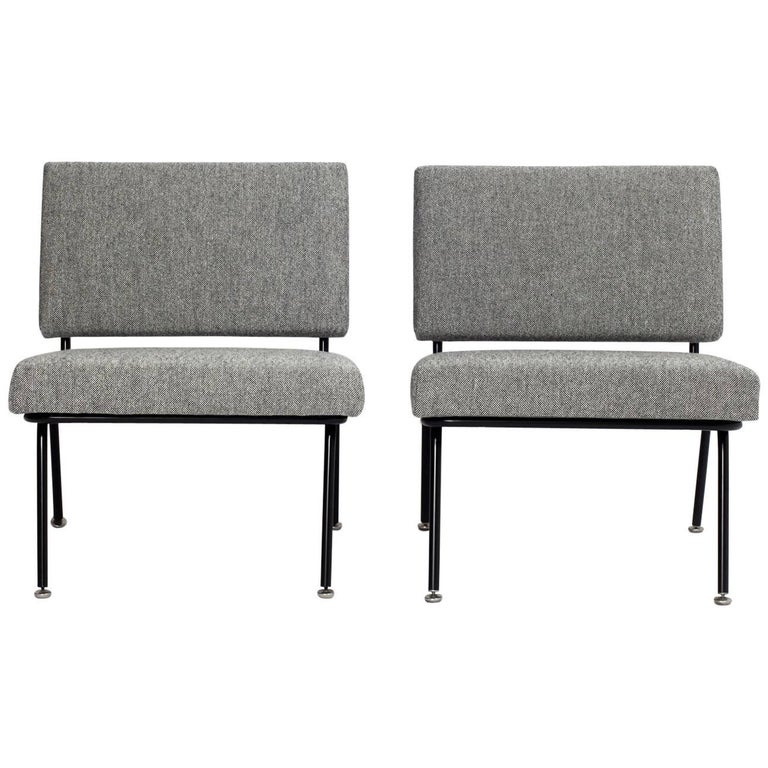 Pair of Florence Knoll Easy Chairs Model 31 for Knoll International, 1955