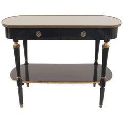 "French 1940s ""Louis XVI Style"" Two-Tier Console Table"