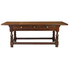 Rustic 19th Century Italian Farm House Table