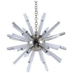 Midcentury Venini Sputnik Twelve-Light Chandelier
