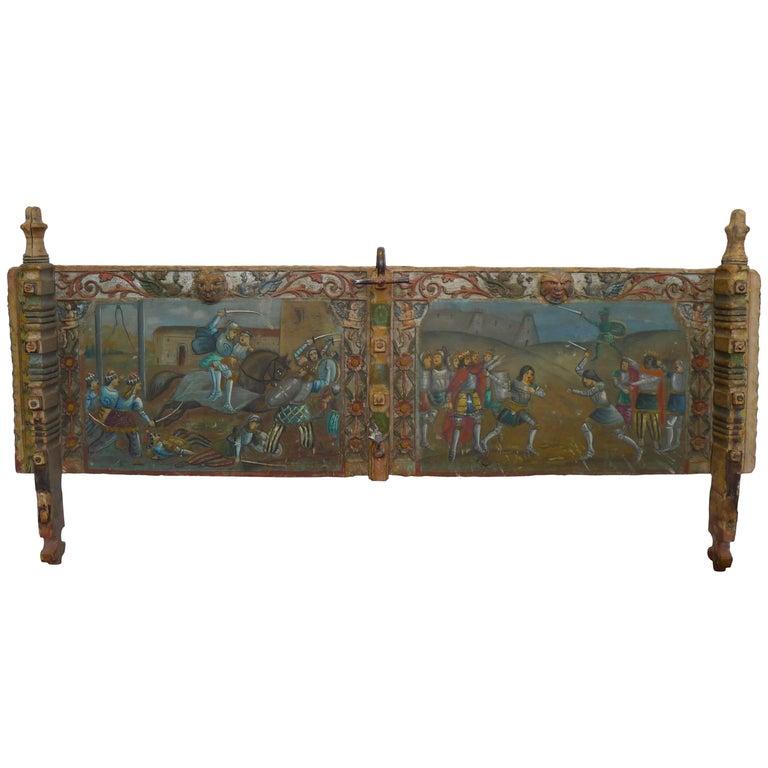 Panels of Sicilian Cart, 18th Century