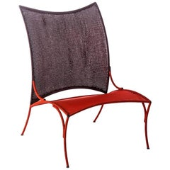 Arco Chair A. by Martino Gamper for Moroso for Indoor or Outdoor in Multi-Color