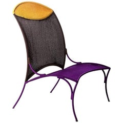 Arco Chair B. by Martino Gamper for Moroso for Indoor/Outdoor in Multi-Color