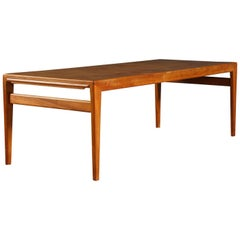 1960s Johannes Andersen Danish Coffee Table in Teak