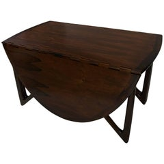 Niels Koefoed Rosewood Gateleg Table