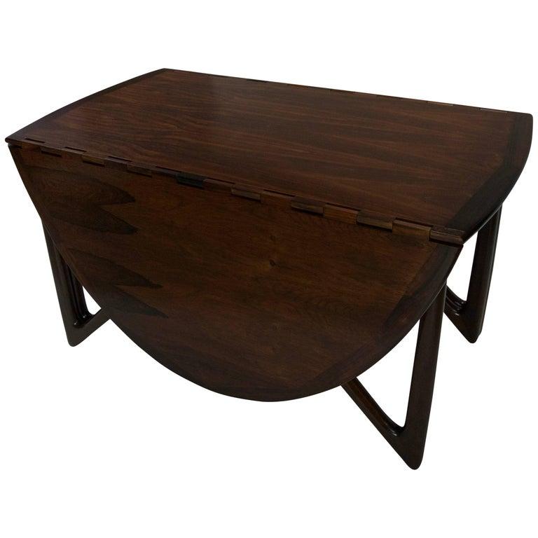 Niels Koefoed Rosewood Gateleg Table