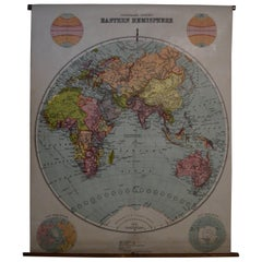 Early 20th Century Map of the Eastern Hemisphere, 1916 Edition