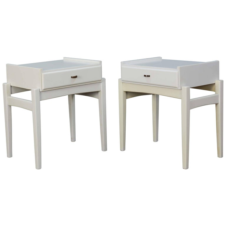 Pair of Peter Lovig Nielsen Nightstands For Sale