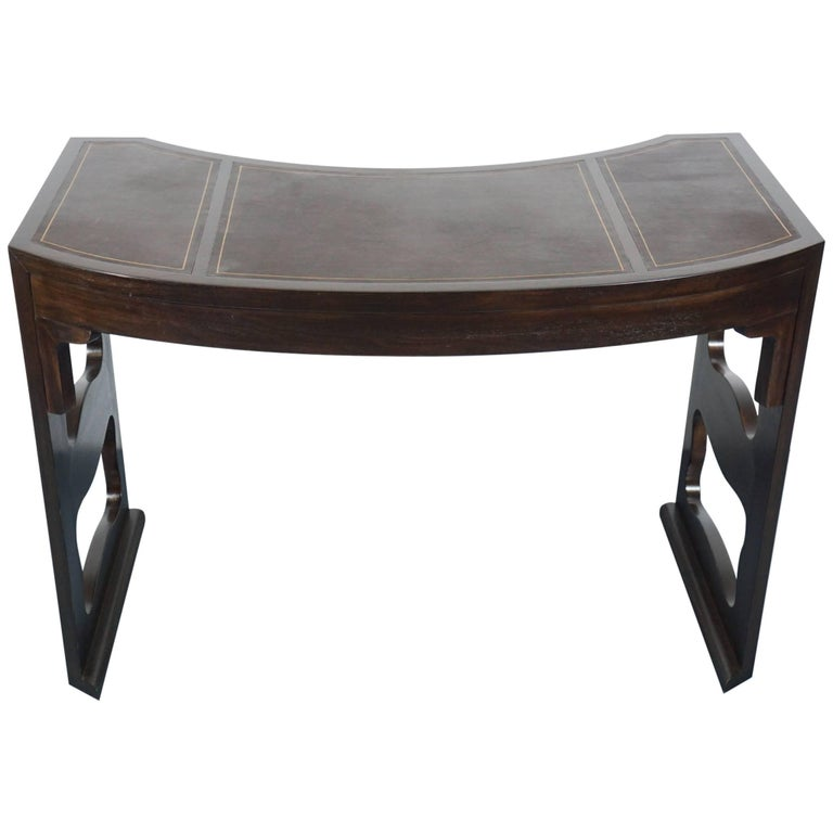 Baker Writing Desk with Leather Top