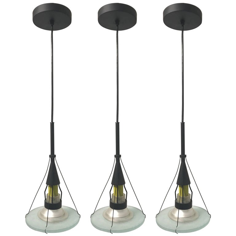 Postmodern Pendant Lights Designed by Robert Sonneman for George Kovacs