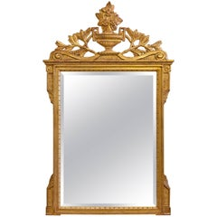 Italian Neoclassical Gilt Mirror