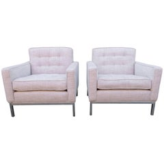 Pair of Knoll Lounge Armchairs