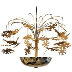 Paavo Tynell Snowflake Chandelier
