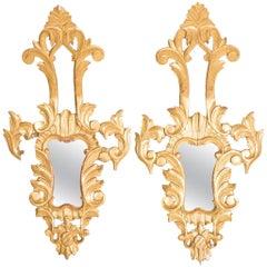 Pair of Vintage Venetian Mirrors