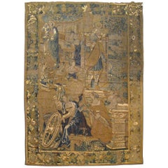 Antique 17th Century Flemish Tapestry With The Liberal Arts Areas Of Knowledge