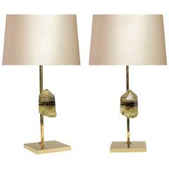 Pair of Modern Topiz Mount Lamps