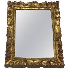 1960s Italian Florentine Rectangular Mirror