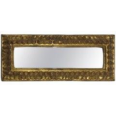 1960s Italian Florentine Rectangle Gilded Mirror