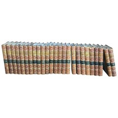 Set of 25, circa 1894 English Volumes by W.M.Thackeray