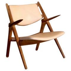 Hans J. Wegner CH-28 Sawbuck Chair, 1950s