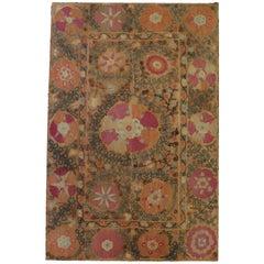 19th Century Museum Quality Suzani Textile Uzbeck