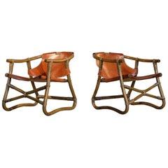 Pair of Espri Lounge Chairs, Sweden, 1970s