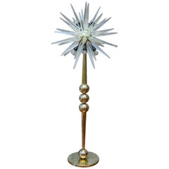 Murano Glass Floor Lamp