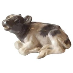 Royal Copenhagen Lying Calf by Knud Kyhn #1072