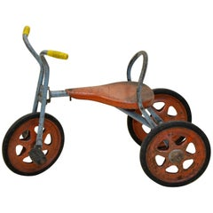 1960s Mobo Vintage Toddler's Three Wheeled Tricycle