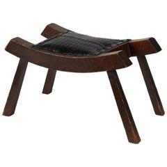 Stool with Upholstered Top