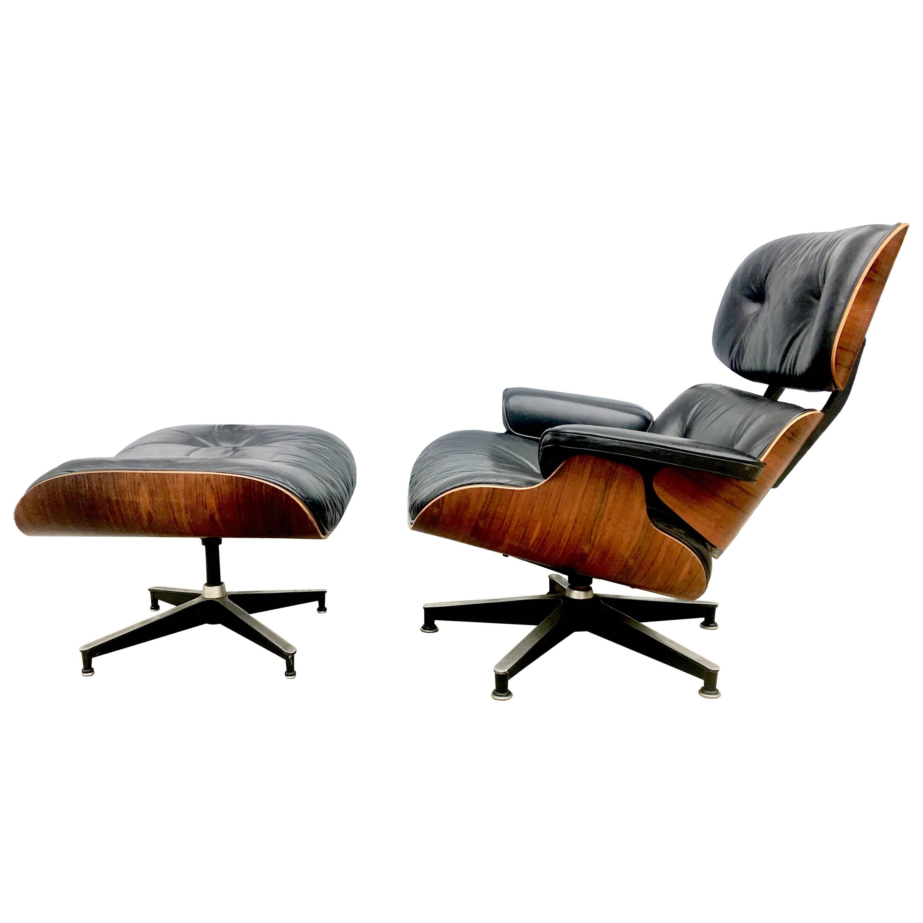Stunning Herman Miller Eames Lounge Chair And Ottoman