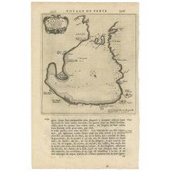Antique Map of Manilla Bay Philippines by P. van der Aa, 1719